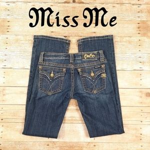 Gold Miss Me Size 28